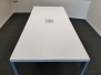 Haworth 8' conference table with AV module + power - 4 available