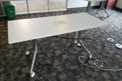 Haworth conference/training table 6' - 6 available