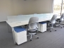 Haworth Planes Benching workstations - 24 available