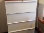Knoll U-shape Desk Set with Sit/Stand corner, hutch, file cabinet, etc - 16 available