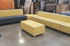 Arcadia Lounge Sectional Grey with Yellow Dutch