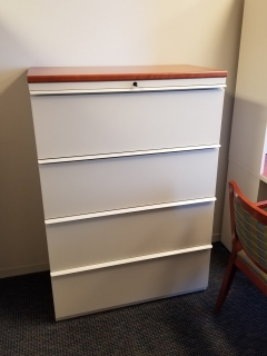 knoll four drawer lat