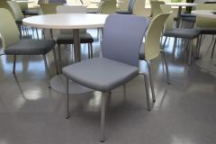 Haworth Cafe Sets with \'Look\' chairs 16 tables, 54 chairs available