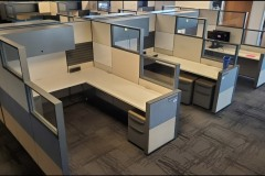 Haworth Compose 6x7 Workstation Fully Optioned 100 Available