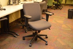 Haworth \'Look Fully Adjustable Task Chair Charcoal Fabric - 50 available SPECIAL WORK AT HOME PRICE $99.00!