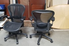 Herman Miller Aeron Task Chair Size B graphite limited qty available WORK FROM HOME SPECIAL! $480 EACH!
