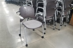 Herman Miller Caper stack/rolling chair - 34 available