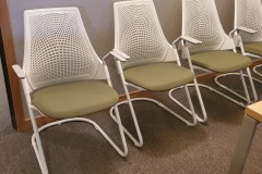 Herman Miller Sayl Guest chair White - 10 available